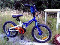 William's new bike